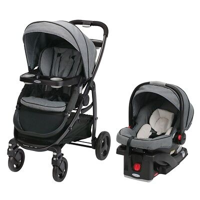 Graco Modes Travel System with SnugRide Click Connect 35 Infant Car Seat - Downt