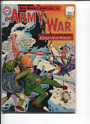 Our Army At War 154 Fn-  Kubert C/a 1965