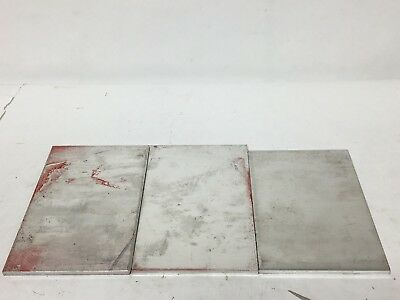 "Set 5"" to 6"" x 4"" Aluminum Sheet Plate Scrap Metal Material Stock Bar Flat Shim"