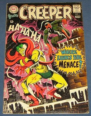 Beware The Creeper #1  June 1968  Classic Ditko Cover