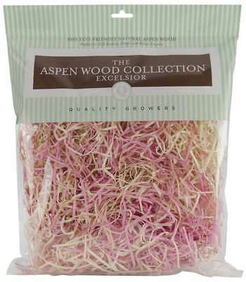 Aspenwood Excelsior 328 Cubic Inches Pink & Natural 740657271599