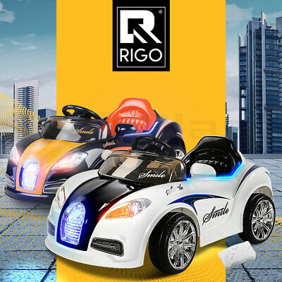 Rigo Kids Electric Ride On Car Toys 12V Battery Remote Cars Bugatti Style