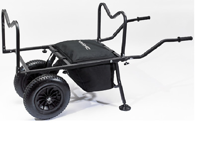 Daiwa Compact Match Barrow NEW Coarse Fishing Twin Wheel Seatbox Trolley