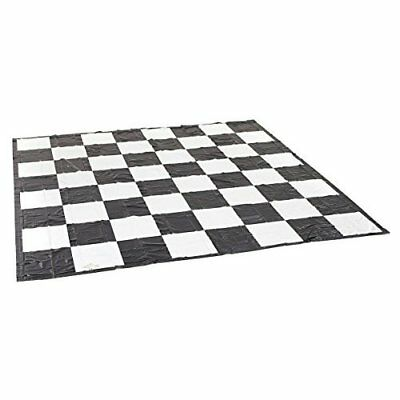 Garden Games Giant Chess / Draughts Mat - Super Strong PVC 3m x 3m for use with