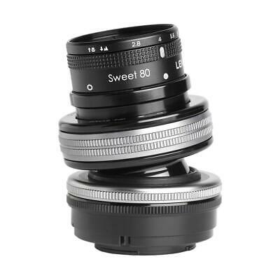 Lensbaby Composer Pro II Lens with Sweet 80 Optic for Nikon Digital Cameras