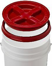 Detailing Kit 5 gallon bucket, and Gamma Seal Lid Red