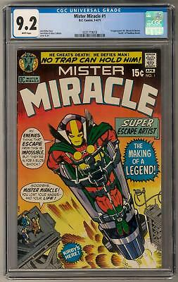 Mister Miracle #1 CGC 9.2 (W) 1st Mr. Miracle and Oberon