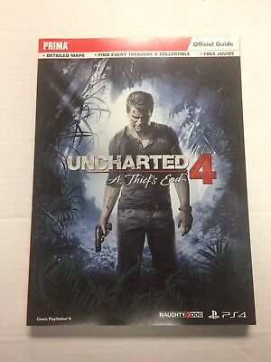 Uncharted 4: a Thief's End Standard Edition Strategy Guide by Prima Games (2016,