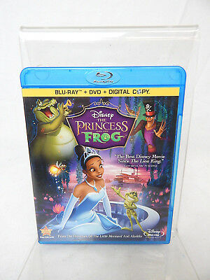 2D THE PRINCESS AND THE FROG BLU-RAY + DVD Walt Disney 3 Disc Combo Pack
