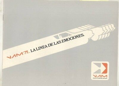 1975 American Motors VAM AMX Gremlin Rally Brochure Export Spanish Mexico wz1012