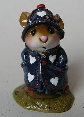 APRIL SHOWERS by Wee Forest Folk, M-180, Love American Style, Mouse Expo 2008