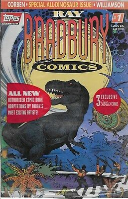 Ray Bradbury Comics No.1 OVP mit Trading Cards / Richard Corben Al Williamson