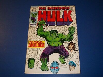 Incredible Hulk #116 Silver Age Leader Great Cover