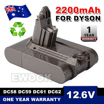 21.6V 2200mAh Battery for Dyson Absolute V6 DC58 DC59 DC61 DC62 D72 DC74 BC683