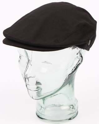 471160056e1 80s Casual Classics Jaxon   James Cotton Flat Cap in Black