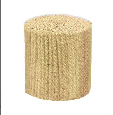 "Latch Hook Yarn - Beige  approx 400 strands 3ply 2.5"" long. Use on 4.5hpi canvas"