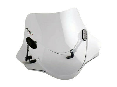 Windschild Puig City Sport smoke für PGO PMX 50
