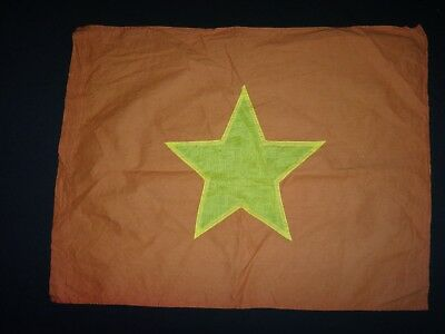 Vietnam War VC North Vietnamese Army (NVA) Cotton Flag *Vintage*