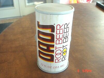 RARE Vintage DADS ROOT BEER Soda Pop Logo Working Advertising AM Can Radio