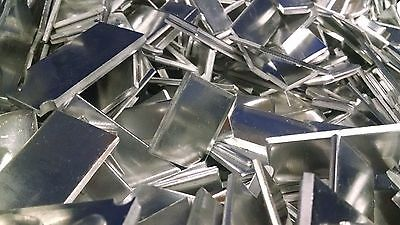 5LB Pound Aluminum Scrap Chip Pieces Casting Clip Melting Smelting Flat Shim Art