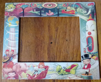 1993 Mark Ryden Small Screenies Photo Frame Carnival Side Show New Pop Art
