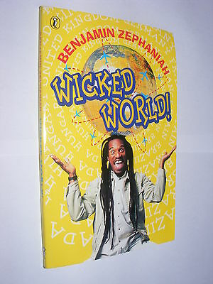 Wicked World by Benjamin Zephaniah PB poetry poems for children