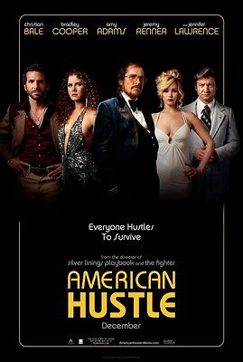 American Hustle - original DS movie poster D/S 27x40 Advance MINT