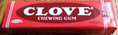 """1 unopened pack collectible """"ADAMS"""" Clove chewing gum"""