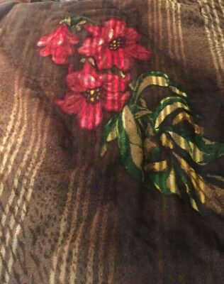Vintage Chase Horsehair Blanket Buck Sleigh Saddle Buggy Carriage