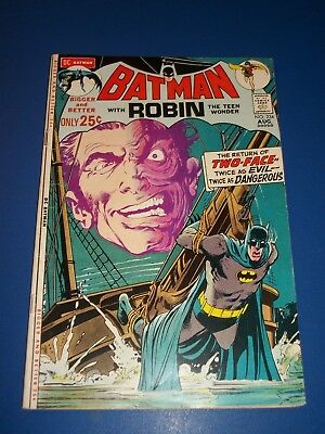 Batman #234 Bronze Age 1st Modern Harvey Dent Two Face Huge Neal Adams Key Wow