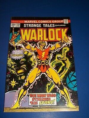 Strange Tales #178 Bronze Age Warlock Starlin Art Wow VF Beauty 1st Magus