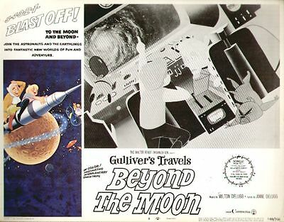 Gulliver's Travels Beyond the Moon 11x14 Lobby Card #8