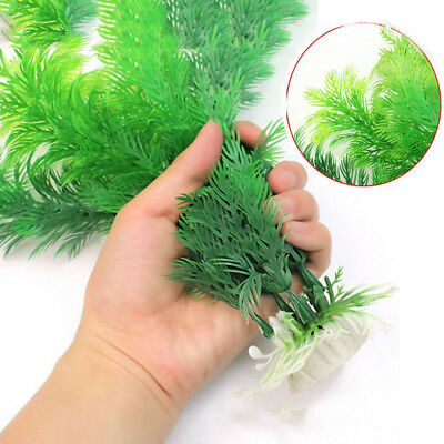 Ornament Decor Aquarium MOCRUX Underwater Grass Fish Tank Plastic Plant