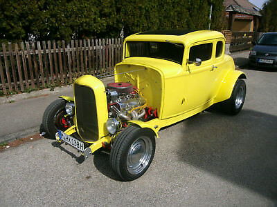 Ford 1932 5 Window Coupe Deuce Hotrod Ratrod Oldtimer H Kennz. American Graffiti