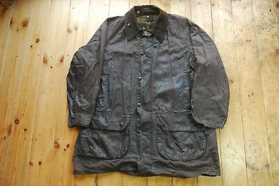 Men's Brown Waxed Cotton Country Field Jacket A125 Gamefair Barbour 44""