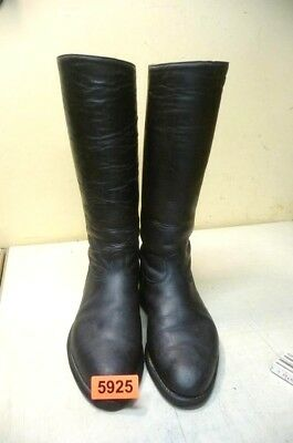 Nr. 5925.  Alte Militärstiefel Stiefel    Old Military Leather  Boots