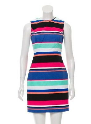 NWT KATE SPADE Tropical Stripe Mariam Dress Size 0 XS -  95.00 ... 6811c0b80c05b
