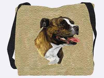 Woven Tote Bag - Staffordshire Bull Terrier 1945