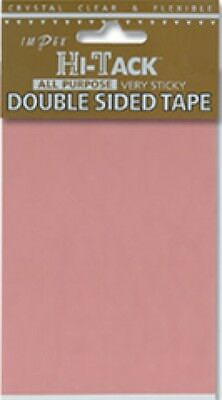 Impex Hi Tack Double Sided Adhesive Craft Sheet HTT4 each
