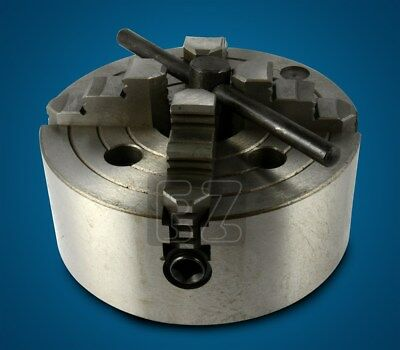 """6"""" 4 Jaw Independent Flat Back Lathe Chuck 4-Jaw"""