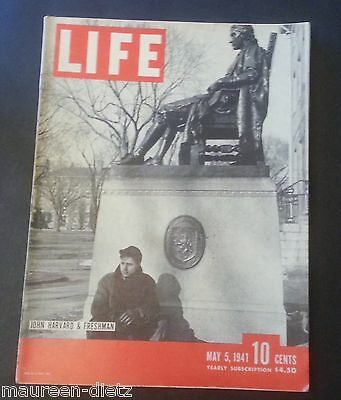 May 5, 1941 LIFE Magazine Advertising Coke 40s advertising ads FREE SHIPPING 6 7