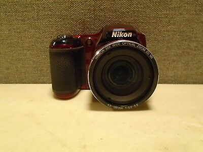Nikon COOLPIX L820 16 MP CMOS Digital Camera with 30x Zoom Lens  CAMERA ONLY!!