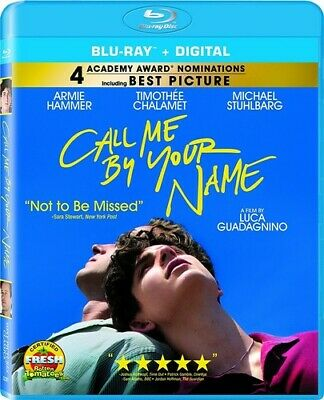 Call Me By Your Name (REGION A Blu-ray New)