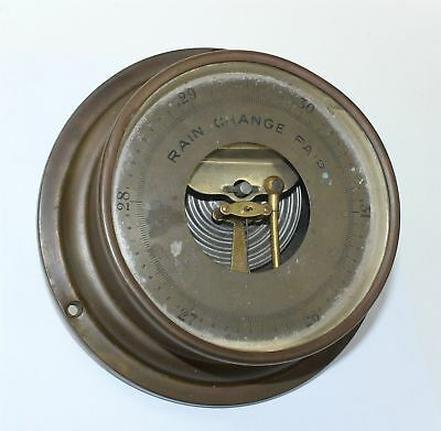 Vintage Tycos Wall Barometer , Made In Rochester, Ny - Kc409