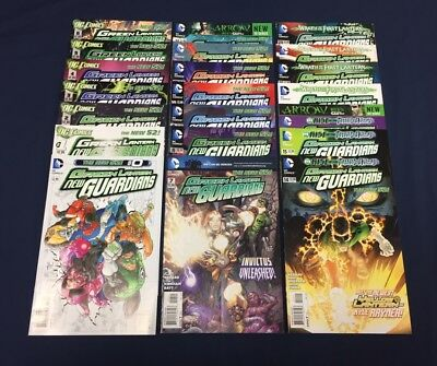 Green Lantern New Guardians #0 1-40 + Annuals : Complete Series : Dc New 52 2012