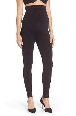 SPANX Mama Look at Me Now Seamless Maternity Leggings Black XL