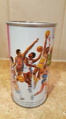 1977 Grafs Root Beer NBA All Star Game Soda Can Pete Maravich Larry Bird
