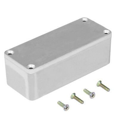New 1590B Style Aluminum Musical Stomp Box Effects Pedal Enclosure for Guitar