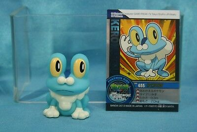 Bandai Pokemon The Series XY Kids Finger Puppets Vinyl Figure Froakie Keromatsu