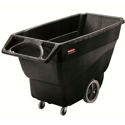 Rubbermaid FG101100BLA Structural Foam Tilt Truck, Utility Duty